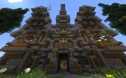 Nordic Mansion Minecraft Map & Project