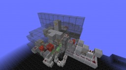 Slime block automatic underground pathway V2 Minecraft