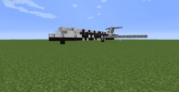 Alaska Airlines Boeing 727 Minecraft Map & Project