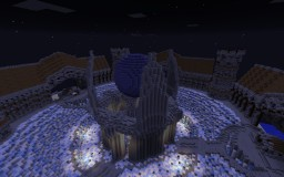 Fantasy Medieval Ice City Minecraft Map & Project