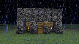 Perma-night Survuval Minecraft Map & Project