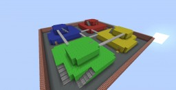 Mario Kart's Block Fort Minecraft Project