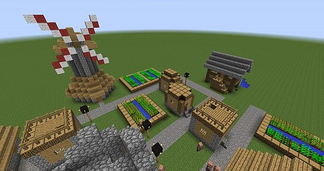 Extended Villages Mod
