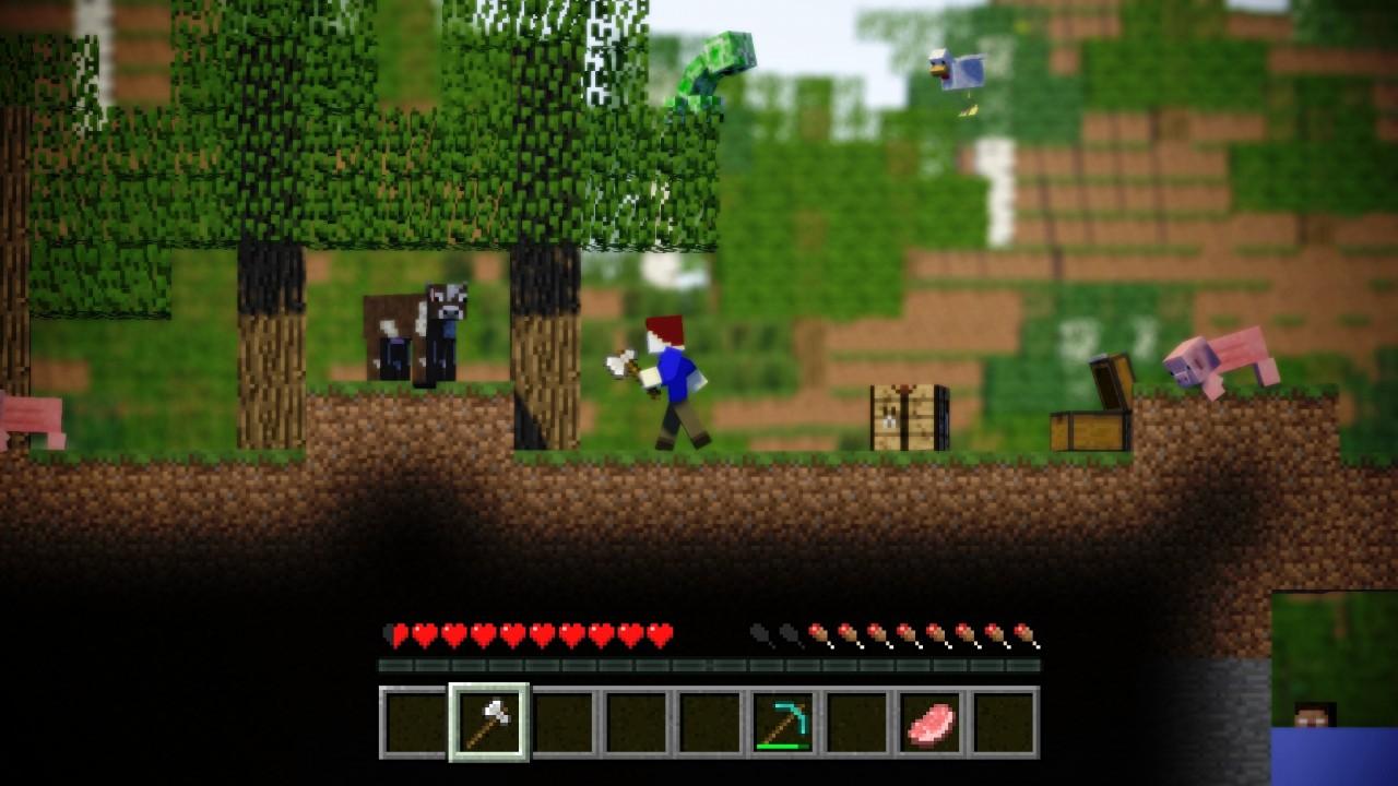 Best Wallpaper Minecraft Action - 2dminecraft8188399_lrg  HD_448122.jpg