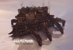 Agamemnon - over 10 million blocks! Minecraft Map & Project