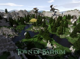 Town of Bathum | Awakened Blocks Minecraft Map & Project