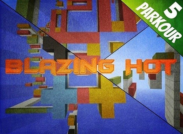blazinghotlogoreal8184292 [1.8] Blazing Hot Parkour Challenge Map Download