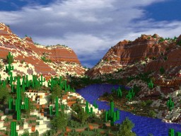 Canyon Island Minecraft Project