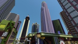 LA Bank Building and Grounds from GTAV Minecraft Map & Project