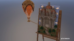 A Creative Easel Minecraft Map & Project