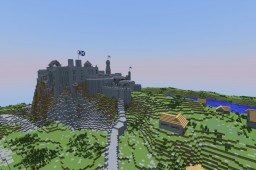 Medieval Edinburgh Edinburgh Castle Minecraft Project