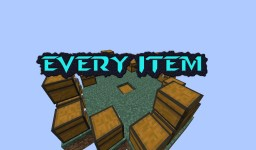 EveryItem Survival Minecraft Map & Project