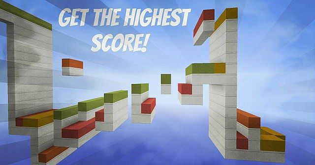 highest8184289 [1.8] Blazing Hot Parkour Challenge Map Download