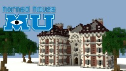 MU Horned House Minecraft Map & Project