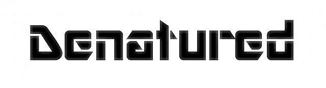 - Denatured Logo -