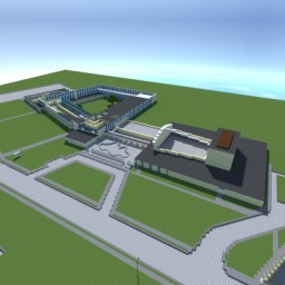 The Lincoln Park High School Project Minecraft Map & Project