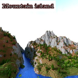 Mountain test. Minecraft Map & Project