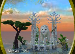 Narnia Lion a part of the Water Temple. Minecraft Map & Project
