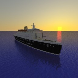"""""""New Era"""" FULL INTERIOR Ocean Liner 1:1 by Mr_Waffle Minecraft Map & Project"""