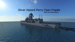 Oliver Hazard Perry Frigate - US Navy - by nammerbom Minecraft Map & Project