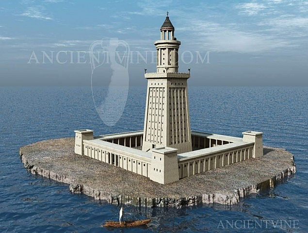An overview of the ancient structure of the pharos of alexandria