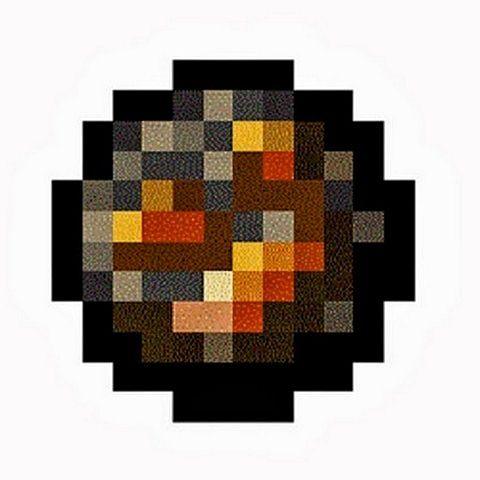 Minecraft как сделать блок огня