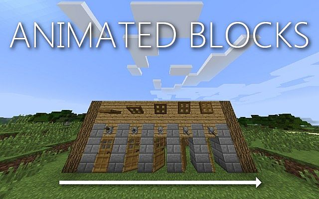Animated Blocks Mod