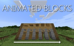 Animated Blocks - Doors With Closing and Opening Animation! Minecraft Mod