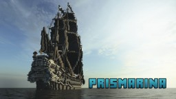 ~Prismarina~ Galleon *Full interior, World DL* Minecraft