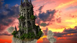 Fantasy Light House Minecraft Project