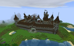 Medeival castle WIP Minecraft Map & Project