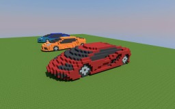 Sports cars Minecraft Map & Project