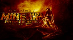 The Elder Scrolls V: Minerim: Skyrim's Downfall: An Adventure Map by lRedPosion Minecraft