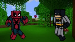 Batman Meets Spiderman - An issue on rivalry on the website Minecraft Blog Post