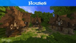 Drogo: Middle Age Houses (3) Minecraft Map & Project