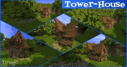 Drogo: Middle Age Tower-House [Pop Reel!] Minecraft Map & Project