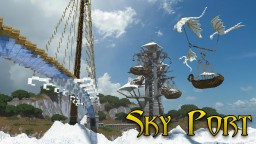Sky Port Minecraft Map & Project