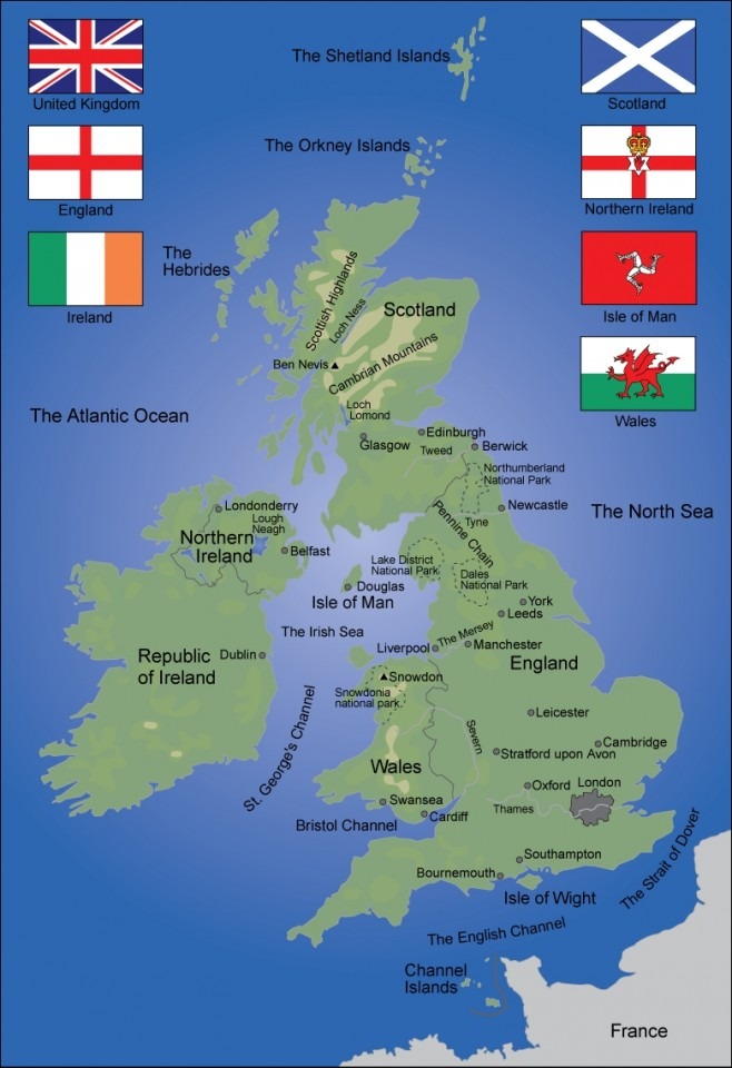 Large World Map Of The British Isles Minecraft Project