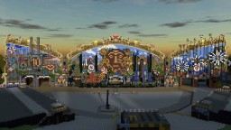 Tomorrowland Festival Belgium 2014 Minecraft Map & Project