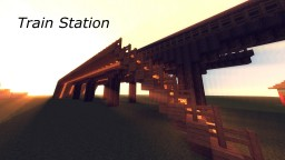 Basic Train Station Minecraft Map & Project