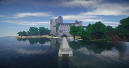 House of the Great Gatsby Minecraft Map & Project