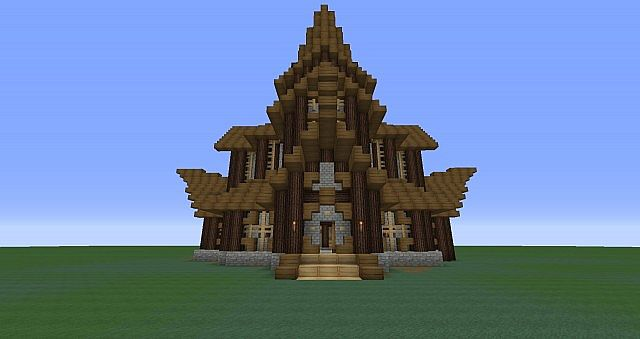viking temple minecraft project