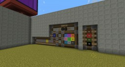 3x3 Pixel Display with 8 Memory's, Invert and Reset features Minecraft Map & Project