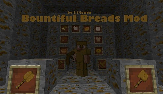 Bountiful Breads Mod