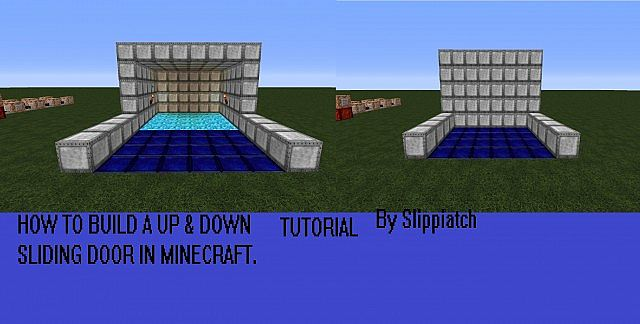 Minecraft Up Down Sliding Command Block Door Minecraft Project & Minecraft Sliding Door Images Album - Losro.com