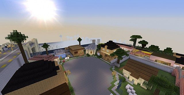 GTA San Andreas Complete Map (ALPHA 1 5 1) 1 7 2 Minecraft