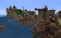 Medieval Port Town: Portsmouth Minecraft