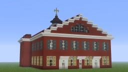 Race Street Friends Meetinghouse, Philadelphia, Pennsylvania Minecraft Map & Project