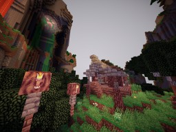 The Beautiful Journey(Jump map) Minecraft Project