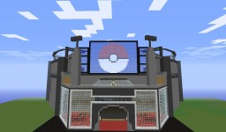 Pixelmon Battle Stadium!!! From Super Smash Bros 2!!! Minecraft Project